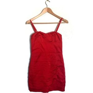 NWT Express Little Red Dress Perfect Holiday Dress
